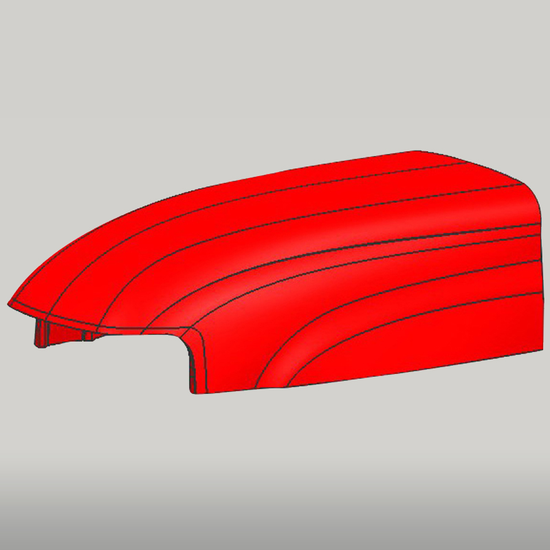 Tractor Engine Hood Mould